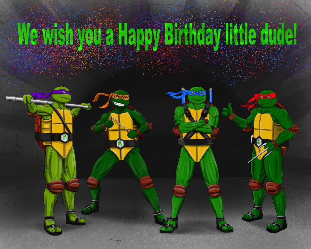 Teenage Mutant Ninja TurtleBirthdayEcards