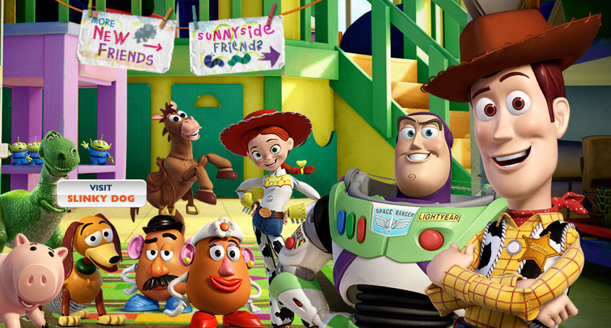 Toy Story Birthday Cards Colouring Pages