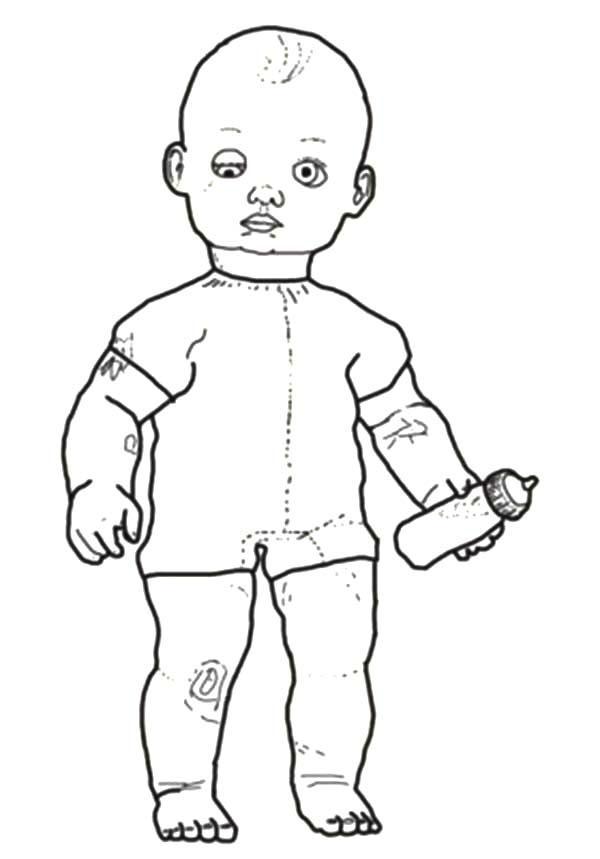 baby toys coloring pages vintage - photo#36