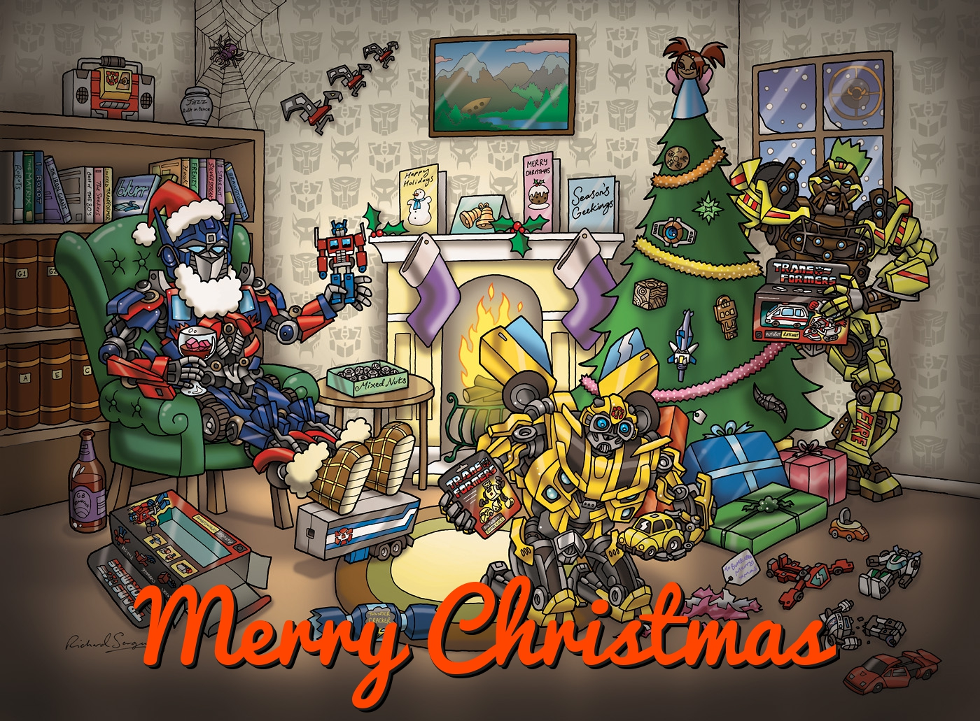 transformers-christmas-card