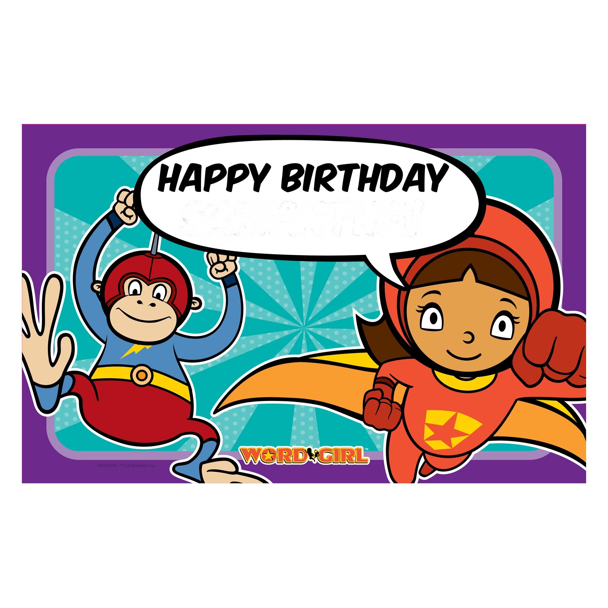 wordgirl birthday